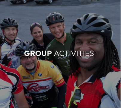 Georges Laraque group activity