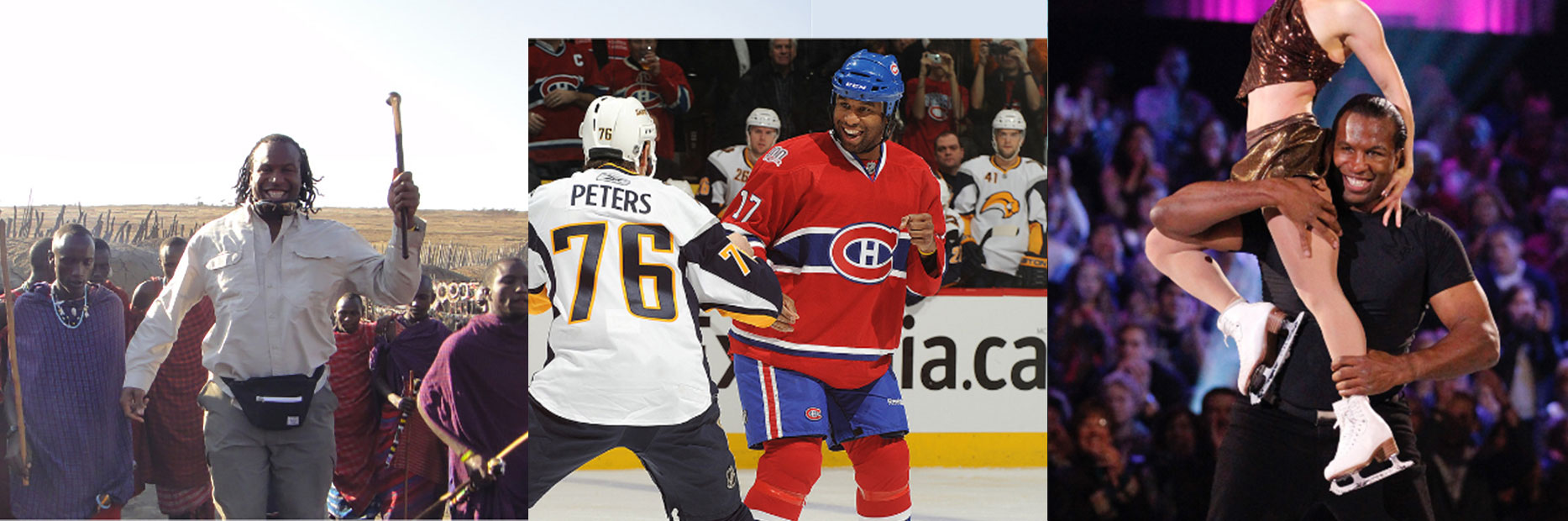 Georges Laraque photo montage